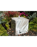 Image Glacier Marble Cube Fountain Kit