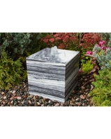 Image White Gray Cube Fountain Kit