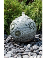 Image Green Marble Sphere