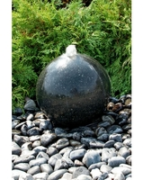 Image Black Granite Sphere