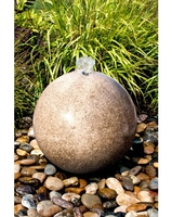 Image Yellow Granite Sphere