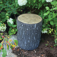 Image Faux Oak Stump Cover