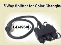 Image 5 way splitter (4 pin) for Color Changing Waterfall Light Bars