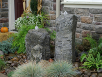 Image Double Cascade Fountain Kit w/ Accent Rock