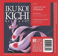 Image Koi Kichi Growth and Color Enhancer Food