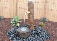 Image Bamboo Basalt Fountain Set
