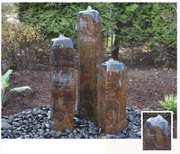 Image EasyPro Tranquil Decor Dome Top Real Basalt Column 3 Pack Kit