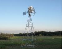 Image Wind Driven Aerators - Four Legged Windmill
