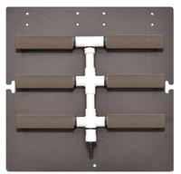 Image Air Diffuser Manifold - 6 Diffusers - Alumina Airstones