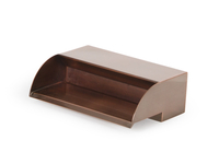 Image Copper Finish Spillways (Scuppers) - 3 Sizes