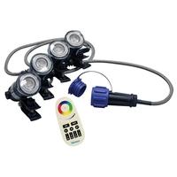 Image RGBW Color-Changing LED 4 Light Set
