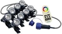 Image RGBW Color-Changing LED  8 Light Set