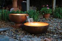 Image Copper Fountain Bowls