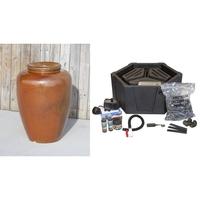 Image Ceramic Vase Closed Top Fountain Kit - Small