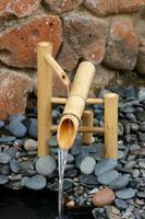 Image Bamboo Rocking Fountain Kit - Deer Scarer