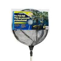 Image Pro Fish Net - Round w/Extendable Handle