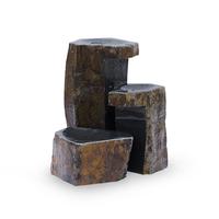 Image Set of 3 Keyed Basalt Columns by Aquascape