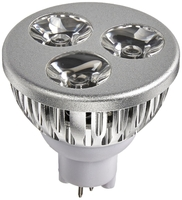 Image 3-Watt 12 Volt Architectural Bronze LED Spotlight Bulbs Only