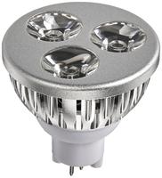 Image 3-Watt 12 Volt Architectural Bronze LED Spotlight Bulbs Only