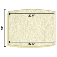 Image Filter Media Replacement Mats for Aquascape Filters