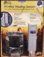 Image Wireless Weather Station with Outdoor Temperature Sensor