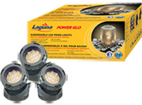 Image PowerGlo Submersible 3 x 12 LED Pond Light Kit by Laguna