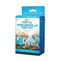 Image Wide Range pH Test Strips by PondCare
