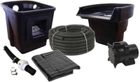 Image Pond Force Small Pond Kit with Upgraded 15x20 Liner/Underlayment