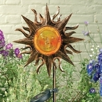Image Solar Helios Metal Stake Light