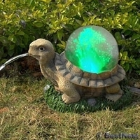 Image Solar Fiber Optic Turtle by Beckett