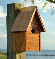 Image Starter Home Birdhouse by Heartwood