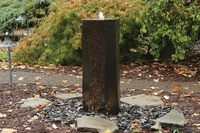 Image 3 Sided Polished Basalt Fountain Kit by Easy Pro