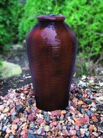 Image Tall Ripple Vase Fountain Kit