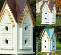 Image Victorian Mansion Birdhouse by Heartwood