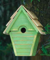 Image Wren in the Wind Birdhouse by Heartwood