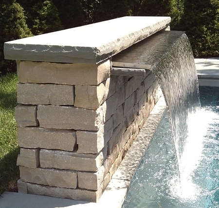 Vianti Falls 15 Quot Lip Spillways Pondless Waterfalls