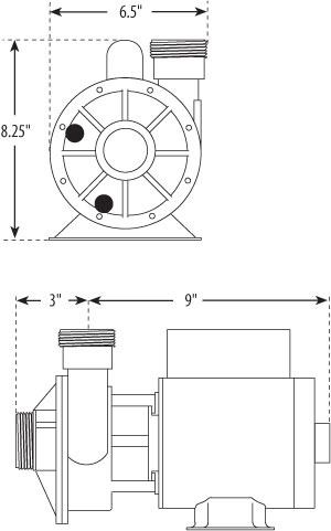 Pond pump design windmill pump design wiring diagram for Pond pump design